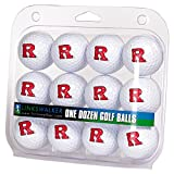 LinksWalker NCAA Rutgers Scarlet Knights - Dozen Golf Balls