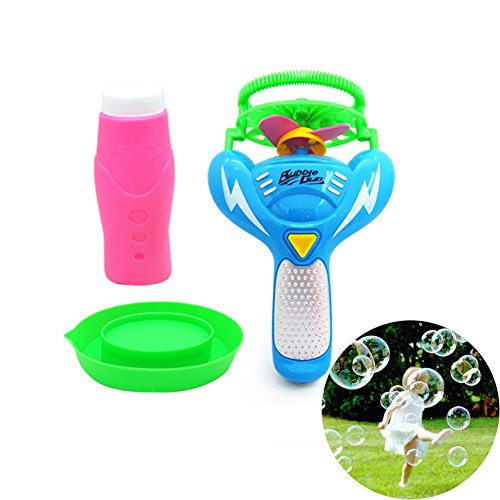 GOVOW-Tech Electric Bubble Toys Automatic Bubble Blower Machine Toy for Kids Summer -