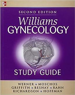 williams gynecology study guide barbara l hoffman 9781259921407 rh amazon ca williams gynecology study guide pdf download williams gynecology study guide second edition pdf