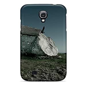 Galaxy S4 Case Cover With Shock Absorbent Protective CjAopck2030KFlgq Case