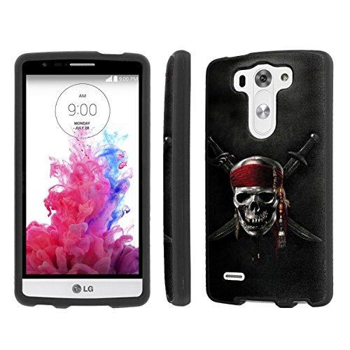 NakedShield LG [ G3 Mini / Vigor / Beat ] (Pirate Skull) Total Armor LifeStyle Phone Snap-On Case
