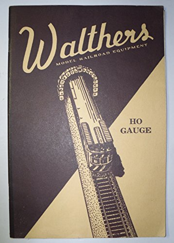 oad Equipment HO Gauge Catalog No. 5 (Walthers Model Railroad)