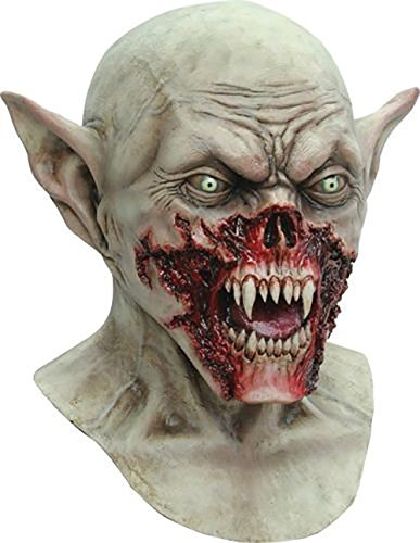 Vampire Mask Kurten Demon Zombie Scary Adult Halloween Costume Party]()