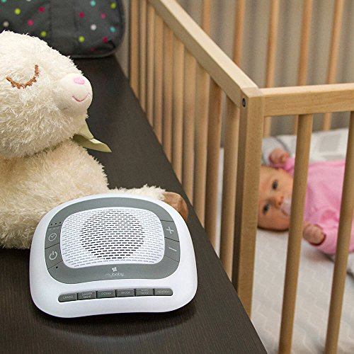 Large Product Image of White Noise Machine for Babies | 6 Soothing Lullabies for Newborns, Sound Therapy for Travel, Relaxing, Kids, Newborns, Toddlers | Baby Songs, Adjustable Volume, Auto-off Timer | MyBaby SoundSpa