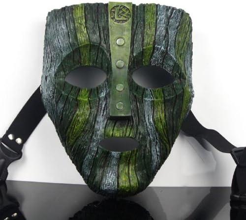The Mask 映画 お面 恐怖仮面 マスク コスプレサポート用品 仮装変装用道具 お祭り カーニバル パーティー イベント ハロウィングッズ (20*16cm)