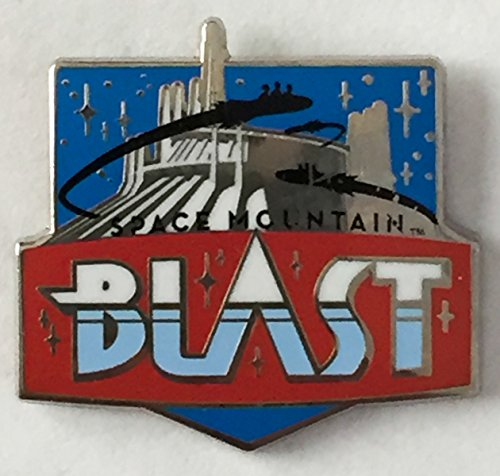 Disney Pin 116187 DLR - Disney Mascots Mystery from Pin Pack - Space Mountain Blast Pin Ride from Disneyland