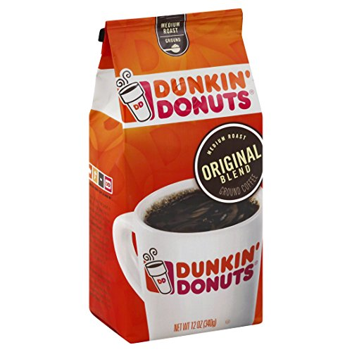 Dunkin' Donuts Original Blend Ground Coffee, 12 oz