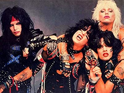 MOTIVATION4U Mötley Crüe, an American Heavy Metal Band, Nikki Sixx, Tommy Lee, Vince Neil, Mick Mars, one The Bands 12 X 18 inch Poster