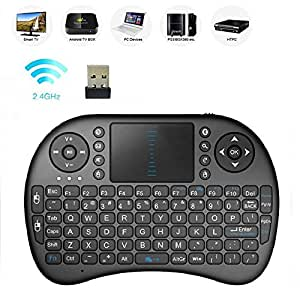 wireless touchpad keyboard freedom mini 2 4ghz bluetooth keyboard with mouse for pc. Black Bedroom Furniture Sets. Home Design Ideas