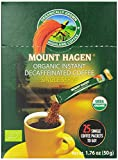 Mount Hagen Organic Instant Decaffeinated Coffee, 25-Count Single Serve Sticks, 1.76 Oz