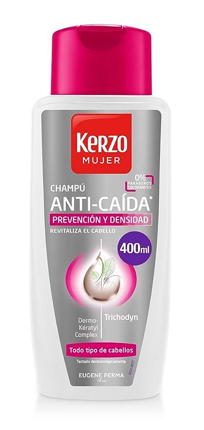 Kerzo Champú Anticaída para Mujeres - 400 ml