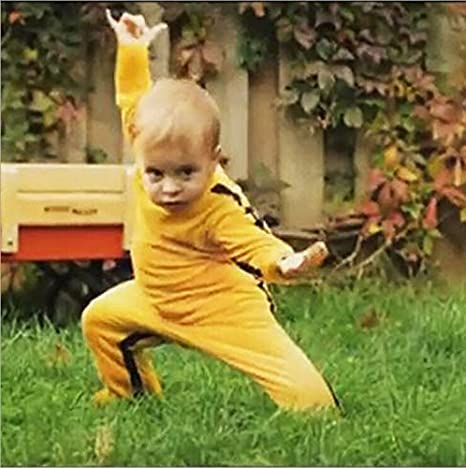 Image result for yellow kung fu jumpsuit