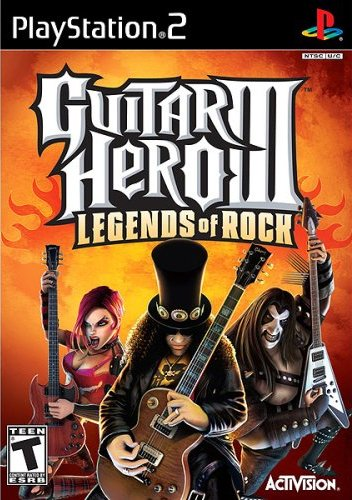 (Guitar Hero III: Legends of Rock - PS2)