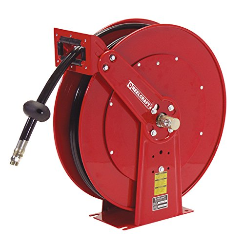 Reelcraft Twin Line Hydraulic 1/2 in. Hose Reel - 50 ft. by Reelcraft