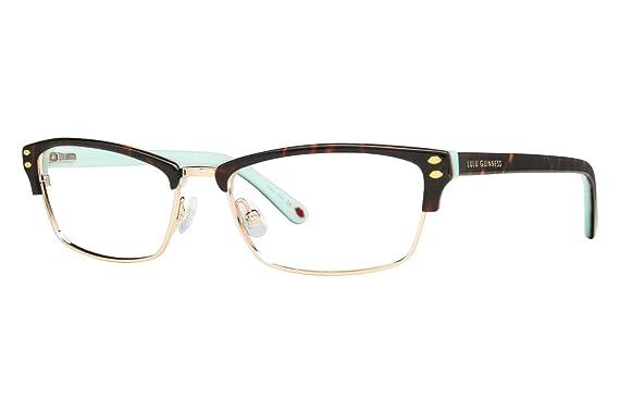 Amazon.com: Lulu Guinness L771 Womens Eyeglass Frames - Tortoise ...