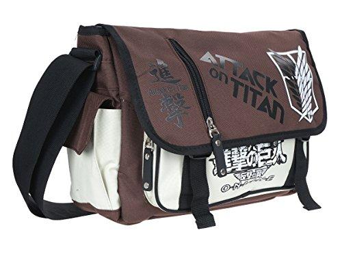 white brown messanger Titan Attack bag CoolChange on UCwpYqUg