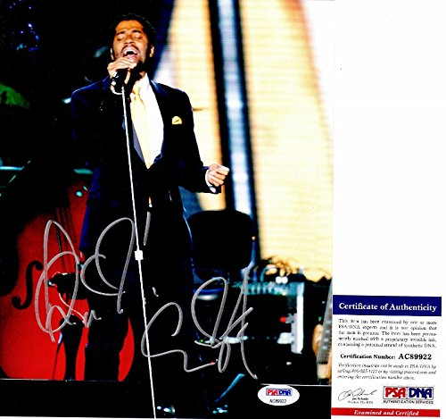 Eric Benet Signed - Autographed R&B Soul Singer in Concert 8x10 Photo with PSA/DNA Certificate of Authenticity (COA) from PSA