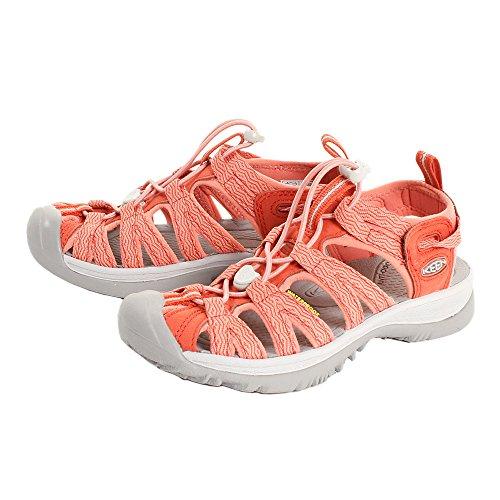 Keen(キーン) レディース 女性用 シューズ 靴 サンダル Whisper - Summer Fig/Crabapple [並行輸入品]