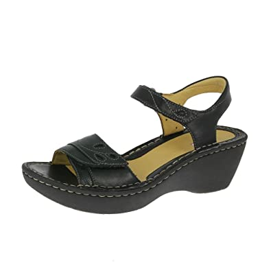 Womens Sandals Clarks Un Dory Black Leather