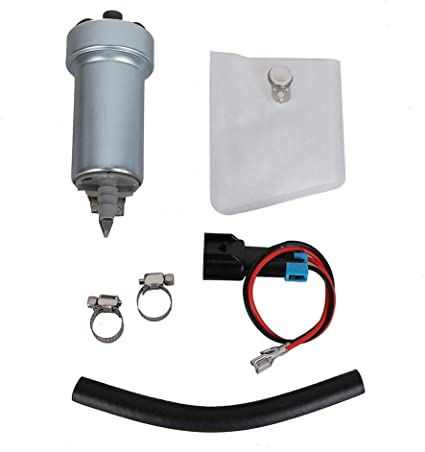 Fuel Pump Install Kit w// Strainer Plug Connector Pigtail for Walbro 255LPH