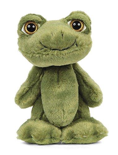 Bearington Big Head Flip Stuffed Animal Frog Toy, 8