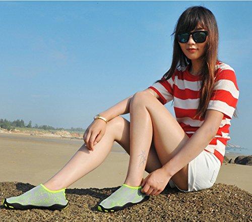 Surf Womens Dry for Quick Grey Yoga Beach Icegrey Socks Aqua Shoes Swim Exercise amp;green Water xvnnwq4p