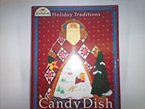 Certified International Holiday Traditions 3-D Candy Dish, 10-1/2-Inch by 8-Inch by Certified International Corp