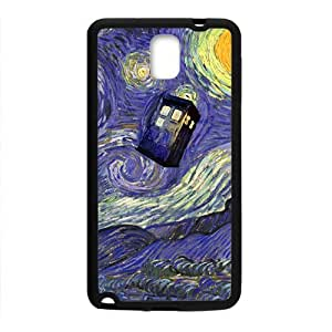 Happy Doctor Who unique pattern Cell Phone Case for Samsung Galaxy Note3