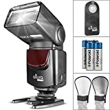 Altura Photo AP-UNV1 Bundle – DSLR Camera Flash Speedlite for Canon Nikon