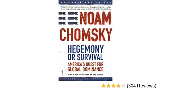 b335550be2d Hegemony or Survival  America s Quest for Global Dominance (American Empire  Project) - Kindle edition by Noam Chomsky. Politics   Social Sciences  Kindle ...