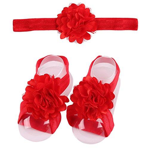 Pied Cheveux Bandeau De Baby Enfant Fleur 9 Pour Headband Bébé Fille Acmede Bande Pcs wqRnXIgtp