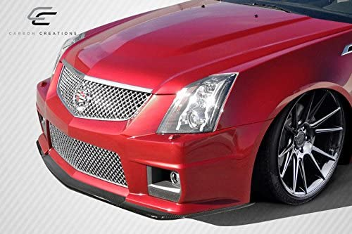 3 Piece Vaero Carbon Creations Replacement for 2009-2014 Cadillac CTS-V G2 Front Splitter