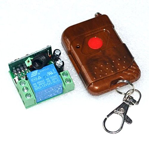 RUNNINGPART New 12V Signal Channel Fixed Encoding Switch + Wireless Remote Control