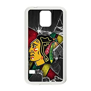 Happy Chicago Blackhawks Cell Phone Case for Samsung Galaxy S5