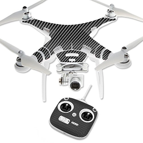 MightySkins Skin for DJI Phantom 3 Standard – Carbon Fiber | Protective, Durable, and Unique Vinyl Decal wrap Cover | Easy to Apply, Remove, and Change Styles | Made in The USA For Sale