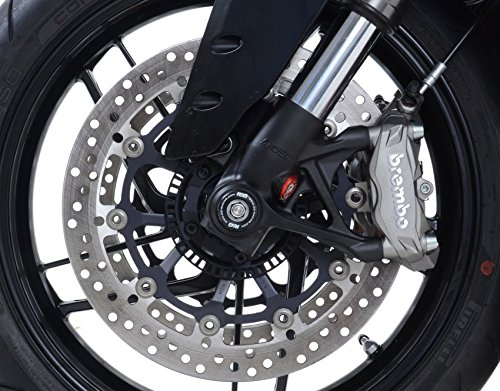 R/&G Front Axle Sliders Fork Protectors for Panigale 899 14-15 Panigale 1199 12-14 /& Panigale 1299 15-17 Small Type