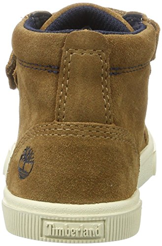 Timberland Kids Abercorn Chukka Boots, Braun (Dark Rubber), 33 EU