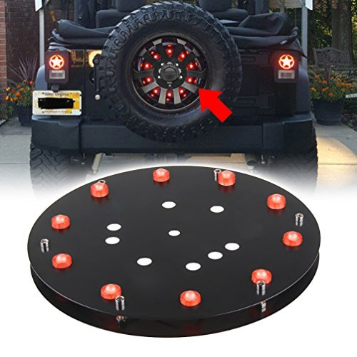 jeep spare tire brake light kit - 7