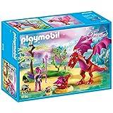 Playmobil 9134-Dragon Mama avec Baby