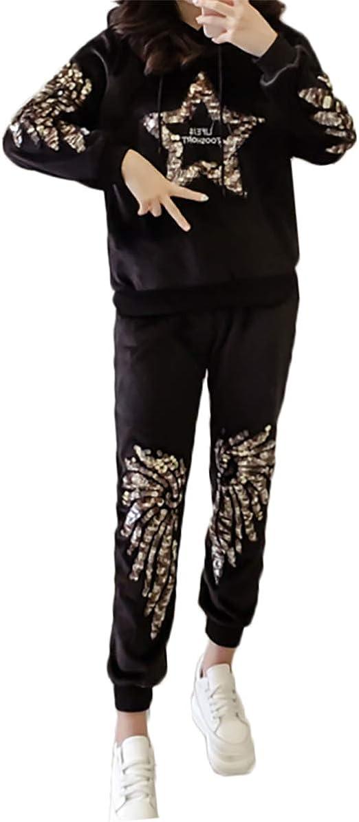 YL Style Trajes de chándal de Terciopelo para Mujer Trajes de ...