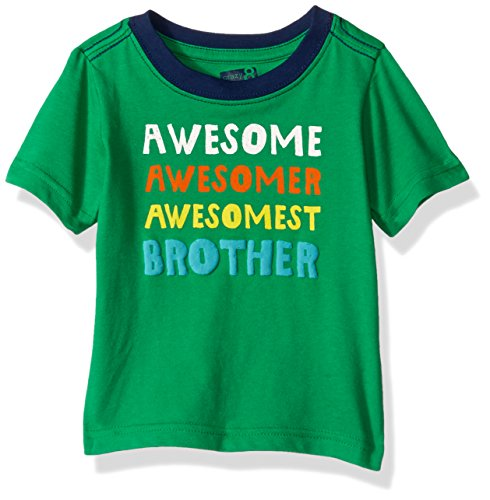 Crazy 8 Baby Toddler Boys' Li'l Guy's Screen Tee, Brother Jelly Bean, (Big Kid Jelly Bean)