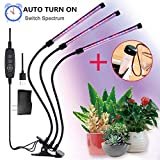 FancyGoo Plant Grow Lamp, LED Grow Light for Indoor Plants, 27W 54 LED Bulbs Timing Plant Grow Lights with Red, Blue Spectrum, 5 Dimmable Levels, 3/6/12H Timer, USB Charger Review