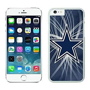 NFL Dallas Cowboys iphone 6 Case White 4.7 inchescell phone cases Gift Holiday Christmas GiftsTLWK935106