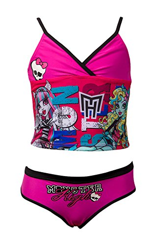 Official Monster High Girls Swimming Costume Swimwear Age 6-12 Years (Official Monster High Costumes)