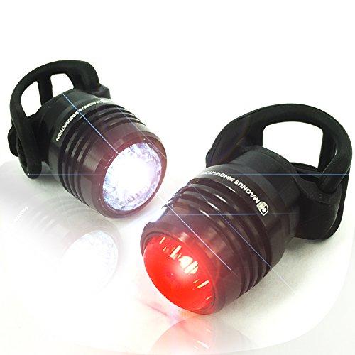 Bold 360 USB Bike Light Set, NEW Multi-Purpose Clip for Cycl