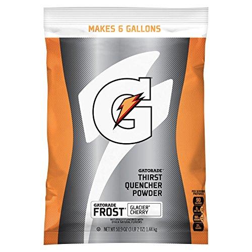 Gatorade Glacier Cherry 6 Gallon Powder - 14 per Case by Gatorade