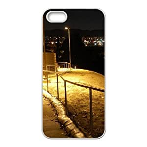Okaycosama Funny IPhone 5,5S Cases City 14 for Women Protective, Iphone 5s Cases for Girls, {White}