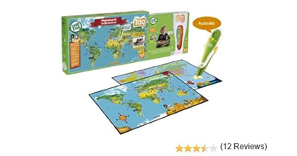 Leap Frog Cefa 00626 - Tag + Mapa Interactivo: Amazon.es: Juguetes ...