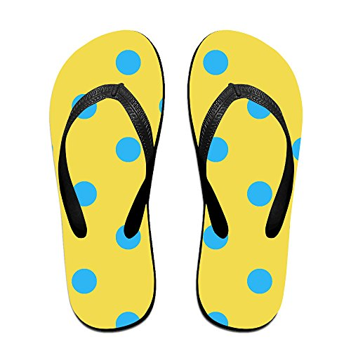 1bd1bd6e7 Double Happiness Summer Unisex Polka Dots Classical Comfortable Flat Home  Sandal durable service