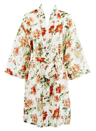 Floral Vintage Robe - 4